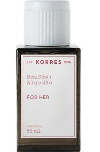 KORRES EAU DE COLOGNE ALGODÃO FOR HER 50ML