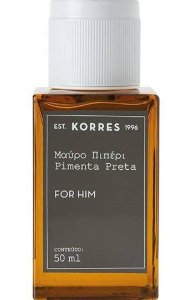 KORRES EAU DE COLOGNE PIMENTA PRETA FOR HIM 50ML