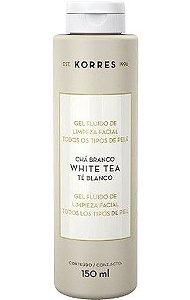 KORRES GEL FLUÍDO DE LIMPEZA FACIAL WHITE TEA 150G
