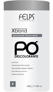 FELPS XBLOND PLATINUM BLOND 500G - PÓ DESCOLORANTE