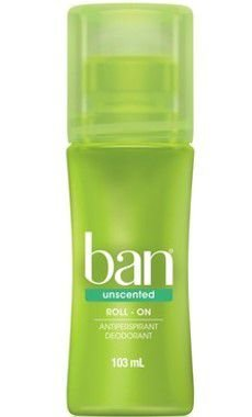BAN DESODORANTE ROLL ON UNSCENTED 103ML