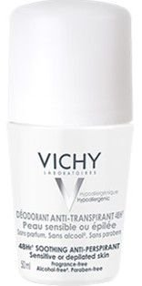 VICHY Déodorant Anti-Transpirant Sensible 48H Roll-On 50ml