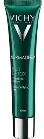 VICHY Normaderm Nuit Detox Creme Facial Purificante Pele Oleosa 40ml