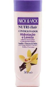 NICK & VICK NUTRI HAIR HIDRATAÇÃO E LEVEZA CONDICIONADOR 300ML
