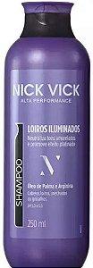 NICK & VICK PRO HAIR LOIROS ILUMINADOS SHAMPOO 250ML