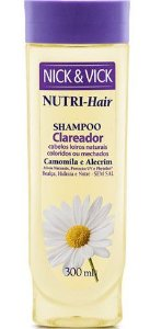 NICK & VICK NUTRI HAIR CLAREADOR SHAMPOO 300ML