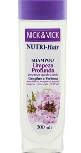 NICK & VICK NUTRI HAIR DETOX SHAMPOO 300ML