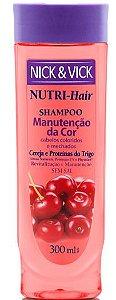 NICK & VICK NUTRI HAIR MANUTENÇÃO DA COR SHAMPOO 300ML