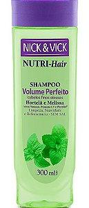 NICK & VICK NUTRI HAIR VOLUME PERFEITO SHAMPOO 300ML