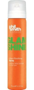 PHIL SMITH GLAM SHINE GLOSS FINISHING SPRAY 75ML - BRILHO FINALIZADOR