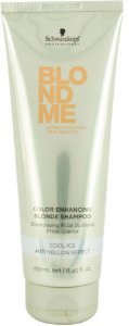 SCHWARZKOPF BLOND ME Shampoo Matizador 250ml  Louros Frios