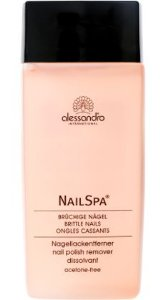 ALESSANDRO INTERNATIONAL NAIL SPA NAIL POLISH REMOVER BRITTLE