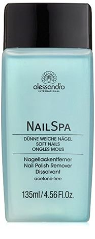 ALESSANDRO INTERNATIONAL NAIL SPA NAIL POLISH REMOVER SOFT