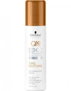 SCHWARZKOPF BC Q10 Rejuvenating Spray Time Restore 200ml
