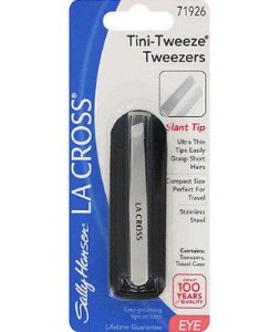 SALLY HANSEN LA CROSS TINI TWEEZE TWEZZERS - MINI PINÇA PONTA OBLÍQUA