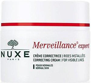 NUXE Merveillance Creme Corretor Pele Normal Rugas Instaladas 50ml