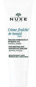 NUXE Crème Fraîche de Beauté Emulsão Hidratante e Calmante 24H 50ml