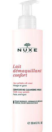 NUXE Rose Petals Lait Démaquillant Confort Leite de Limpeza 200ml