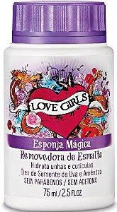 LOVE GIRLS ESPONJA MÁGICA ÓLEO DE SEMENTE DE UVA & AMÊNDOAS 75ML