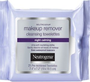 NEUTROGENA NIGHT CALMING LENÇO DEMAQUILANTE C/25 LENÇOS