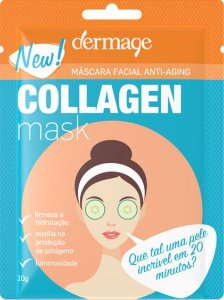 DERMAGE COLLAGEN MASK MÁSCARA FACIAL ANTI-AGING 10G