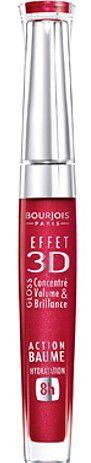 BOURJOIS Effet 3D Gloss 06 Rouge Démocratic