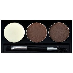 KISS NEW YORK RK Eyebrow Kit Black Dark Brown Go Brow