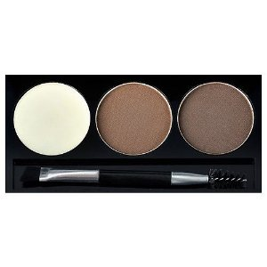 KISS NEW YORK RK Eyebrow Kit Dark Brown Go Brow