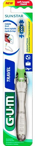 GUM Travel Toothbrush - Cor Sortida
