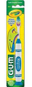 GUM Crayola Toothbrush - Cor Sortida
