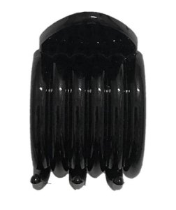 EMILY STAR Prendedor Plástico de Cabelo Médio FC054 Preto