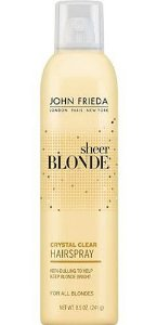 JOHN FRIEDA Sheer Blonde Crystal Clear Hairspray 241g