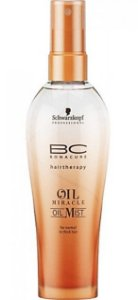 SCHWARZKOPF BC Oil Mist Spray Reparador de Brilho para Cabelos Normais a Grossos Oil Miracle 100ml