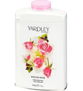 YARDLEY OF LONDON Talco Perfumado English Rose 200g