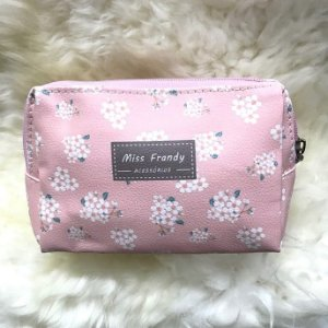 MISS FRANDY Necessaire Pequena Flor P16 0436