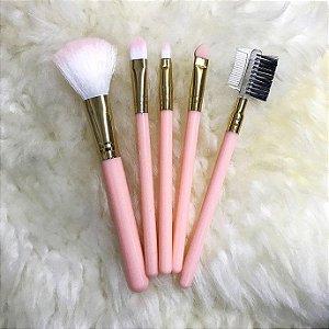 REBECCA ACESSÓRIOS Makeup Candy Color Set c/5 Rosa