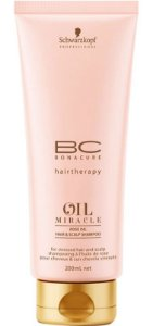 SCHWARZKOPF BC Oil Miracle Rose Oil Shampoo 200ml