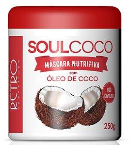 RETRÔ COSMÉTICOS Soul Côco Máscara Nutritiva 250gr