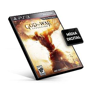 God Of War Ascension - PS3 Mídia Digital