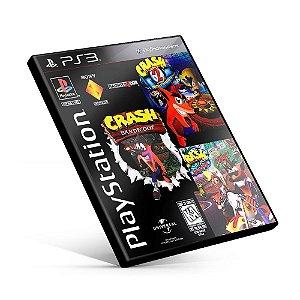 Crash Bandicoot Trilogy 1 2 3 - PS3 Mídia Digital