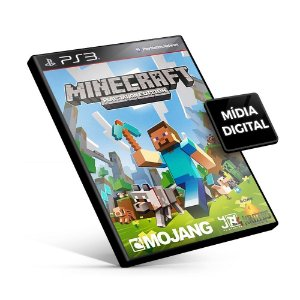 Minecraft - PS3 Mídia Digital