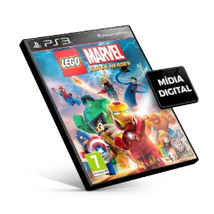 Lego Marvel Super Heroes - PS3 Mídia Digital