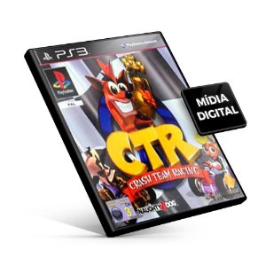 CTR Crash Team Racing - PS3 Mídia Digital