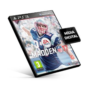 Madden NFL 17 - PS3 Mídia Digital