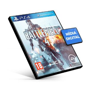 Battlefield 4 - PS4 Mídia Digital