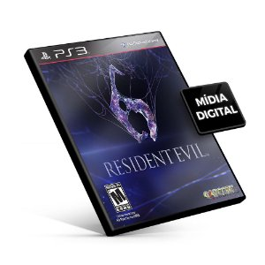 Resident Evil 6 - PS3 Mídia Digital