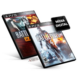Battlefield Bundle - PS3 Mídia Digital
