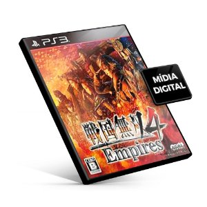 Samurai Warriors 4 Empires - PS3 Mídia Digital