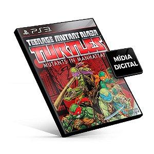Tartarugas Ninjas: Mutantes em Manhattan - PS3 Mídia Digital