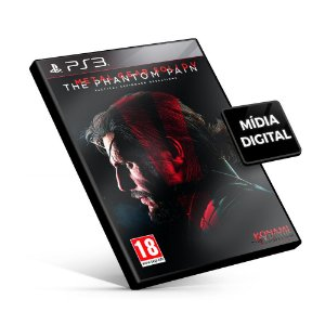 Metal Gear Solid v The Phantom Pain - PS3 Mídia Digital